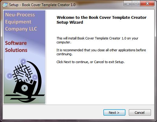 Book Cover Template Generator : Installation